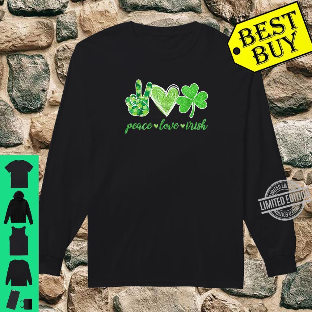 Make St Patricks Great Again Shamrock Heart Mens Sweatshirt